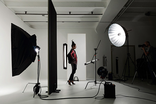Mietstudio mit greenscreen in Berlin. Fotostudio oder Filmstudio